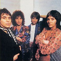 Photograph of the band Smokie in the 1970s