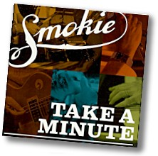 Image of the CD cover for Take A Minute
