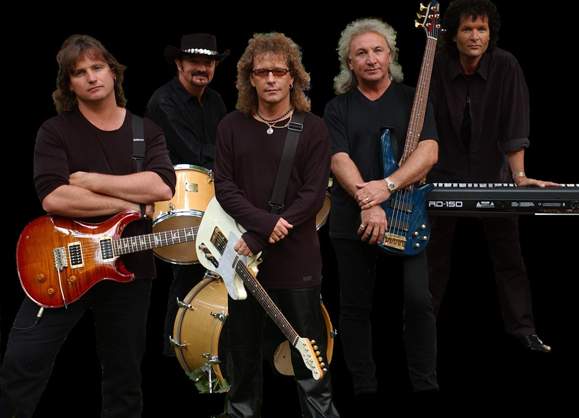 Photograph of the band Smokie