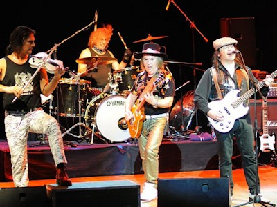 Photograph of the band Slade